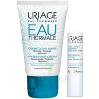 Uriage Eau Thermale Crème d'eau mains T/30ml+Stick lèvres à Lherm