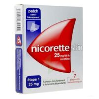 Nicoretteskin 25 mg/16 h Dispositif transdermique B/28 à Lherm
