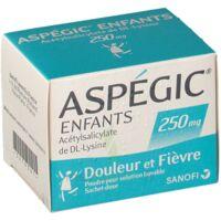 Aspegic Enfants 250, Poudre Pour Solution Buvable En Sachet-dose à Lherm