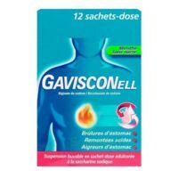 GAVISCONELL Suspension buvable sachet-dose menthe sans sucre 12Sach/10ml à Lherm