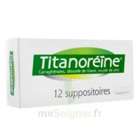 Titanoreine Suppositoires B/12 à Lherm