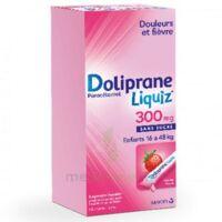 Dolipraneliquiz 300 mg Suspension buvable en sachet sans sucre édulcorée au maltitol liquide et au sorbitol B/12 à Lherm