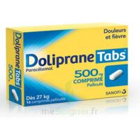 DOLIPRANETABS 500 mg Comprimés pelliculés Plq/16 à Lherm