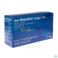 Betadine 10 %, Solution Vaginale En Récipient Unidose à Lherm