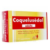 Coquelusedal Adultes, Suppositoire à Lherm