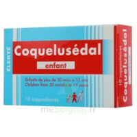 COQUELUSEDAL ENFANTS, suppositoire à Lherm