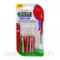 Gum Trav - Ler, 0,8 Mm, Manche Rouge , Blister 4 à Lherm