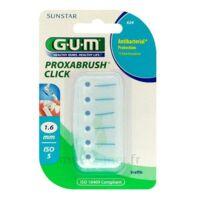 GUM PROXABRUSH CLICK, 1,6 mm, bleu , blister 6 à Lherm