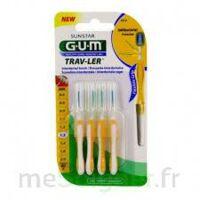 Gum Trav - Ler, 1,3 Mm, Manche Jaune , Blister 4 à Lherm