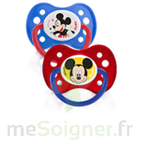 Dodie Disney Sucette anatomique silicone +6mois Mickey Lot/2 à Lherm