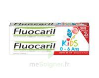 Fluocaril Kids Gel dentifrice Fraise 0/6ans 2*50ml à Lherm