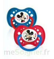 Dodie Disney sucettes silicone +18 mois Mickey Duo à Lherm