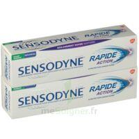 Sensodyne Rapide Pâte Dentifrice Dents Sensibles 2*75ml à Lherm