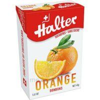 Halter Bonbon Sans Sucre Orange 40g à Lherm