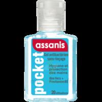 Assanis Pocket Gel antibactérien mains 20ml à Lherm