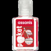 Assanis Pocket Parfumés Gel antibactérien mains cerise 20ml à Lherm