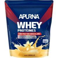 Apurna Whey Proteines Poudre Vanille 750g à Lherm