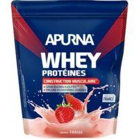 Apurna Whey Proteines Poudre Fraise 750g à Lherm