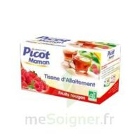 Picot Maman Tisane d'allaitement Fruits rouges 20 Sachets à Lherm