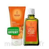 Weleda huile de massage arnica 200ml  + Gel douche OFFERT à Lherm