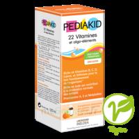 Pédiakid 22 Vitamines et Oligo-Eléments Sirop abricot orange 125ml à Lherm