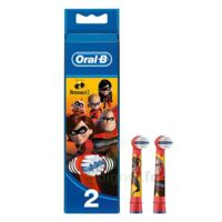 Oral B Incredibles 2 Brossette kids Blister/2 à Lherm