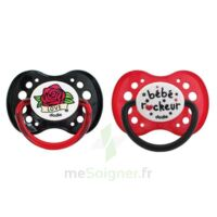 Dodie Duo Sucette Anatomique Silicone +18mois Rock