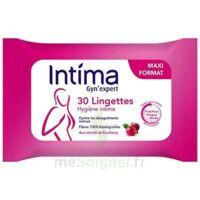 Intima Gyn'Expert Lingettes Cranberry Paquet/30 à Lherm