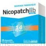 NICOPATCHLIB 14 mg/24 h Dispositifs transdermiques B/28 à Lherm