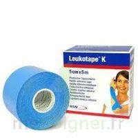 LEUKOTAPE K Sparadrap bleu ciel 5cmx5m à Lherm