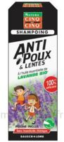 Cinq sur Cinq Natura Shampooing anti-poux lentes lavande 100ml à Lherm