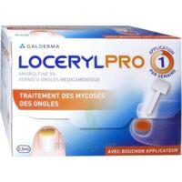 LOCERYLPRO 5 % V ongles médicamenteux Fl/2,5ml+spatule+30 limes+lingettes à Lherm