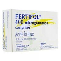 FERTIFOL 400 µg Cpr Plq/90 à Lherm
