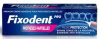 Fixodent Pro Crème Adhésive Pour Prothèse Partielle T/40g à Lherm