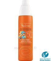 Avène Eau Thermale Solaire Spray Enfant 50+ 200ml à Lherm