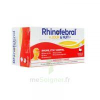 Rhinofebral Jour Et Nuit Poudre Pour Solution Buvable En Sachet édulcoré à L'aspartam 12 Sachets/5g (8 Jours + 4 Nuits) à Lherm