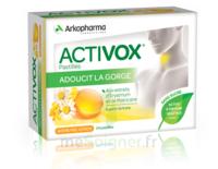 Activox Sans Sucre Pastilles Miel Citron B/24 à Lherm