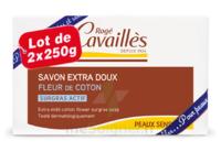 Rogé Cavaillès Savon Solide Surgras Extra Doux Fleur De Coton 2x250g à Lherm