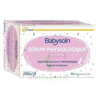 Babysoin Solution Sérum Physiologique 30 Unidoses/5ml à Lherm