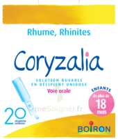 Boiron Coryzalia Solution Buvable Unidose B/20 à Lherm