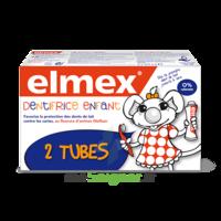 ELMEX DUO DENTIFRICE ENFANT, tube 50 ml x 2 à Lherm