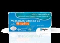 Magnesium/vitamine B6 Mylan 48 Mg/5 Mg, Comprimé Pelliculé à Lherm
