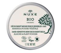 Nuxe Bio Déodorant Baume Fraîcheur 24h Peaux Sensibles Pot/50g à Lherm