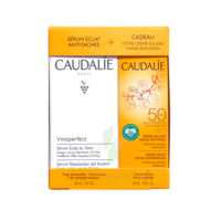 Caudalie Vinoperfect Coffret Sérum + Spf50 - 25ml Offert à Lherm