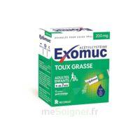 EXOMUC 200 mg granulés usage oral en sachet 15 Sachets/2g à Lherm