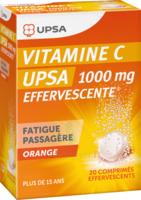 Vitamine C Upsa Effervescente 1000 Mg, Comprimé Effervescent à Lherm